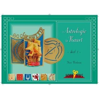 BASTELSETS / CRAFT KITS A5 Buch Astrologie Karten