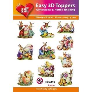 Bilder, 3D Bilder und ausgestanzte Teile usw... 3D designs, Theme: Easter