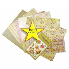 BASTELSETS / CRAFT KITS Scrapbooking Conjunto: Rosas románticas