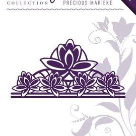 Precious Marieke Punching template: Fleur-de-Lis