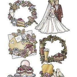 Yvonne Creations sello transparente: Fiestas, celebraciones