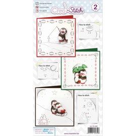 BASTELSETS / CRAFT KITS Kartengestaltung: Stick pakke - Copy