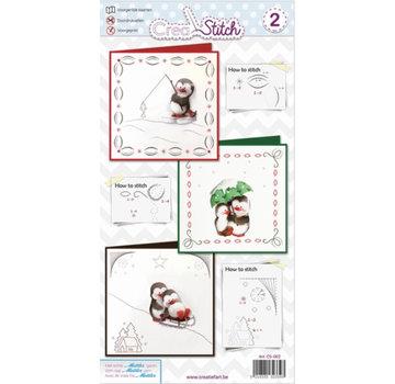 BASTELSETS / CRAFT KITS Kartengestaltung: Stickpackung