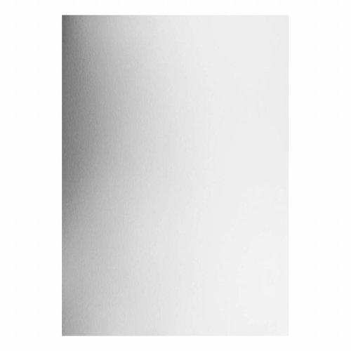 Karten und Scrapbooking Papier, Papier blöcke 8 sheets, A4 box, silver mirror box