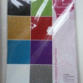 Karten und Scrapbooking Papier, Papier blöcke A4 pad carta glitter