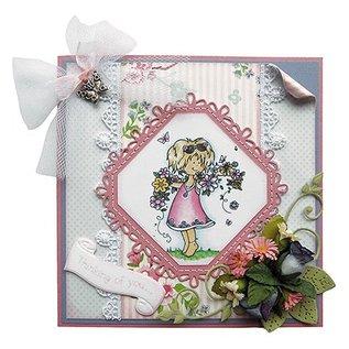 Marianne Design Marianne Design, square & Flower - Stitch Motif