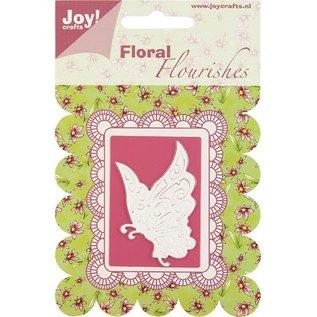 Joy Crafts, snij-en embossing stencil vlinder.