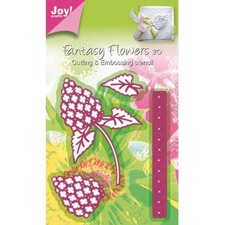 Joy Crafts, cutting and embossing stencil Mery stencil flower, building