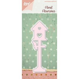 Joy! Crafts, Cutting en embossing stencil Birdhouse