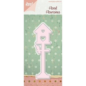 Joy! Crafts, Cutting and embossing stencil Birdhouse