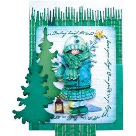 Marianne Design Eliminar sellos, letras de Snow