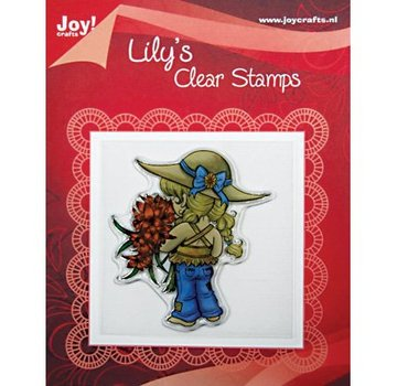 """Joy!Crafts / Jeanine´s Art, Hobby Solutions Dies /  Clear stamps, """"Lily Bloemen"""""""