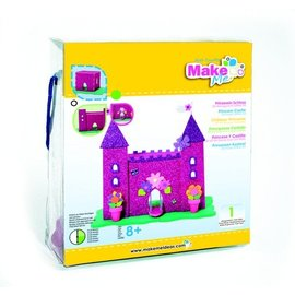 Kinder Bastelsets / Kids Craft Kits Craft Kit, KitsforKids Foam Glitter Castle.