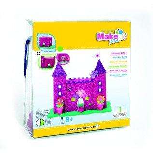 Kinder Bastelsets / Kids Craft Kits Craft Kit, KitsforKids Foam Glitter Kasteel.