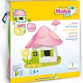 Kinder Bastelsets / Kids Craft Kits Kit Artisanat, KitsforKids mousse Mushroom House.