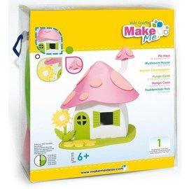 Kinder Bastelsets / Kids Craft Kits Bastelset, KitsforKids Moosgummi Pilz-Haus.