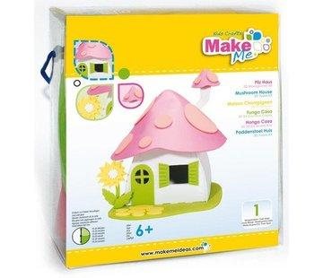 Kinder Bastelsets / Kids Craft Kits Craft Kit, KitsforKids Foam Mushroom House.