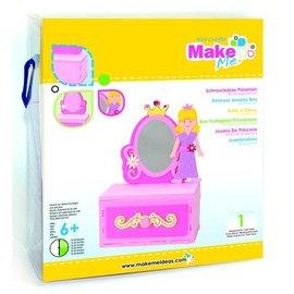 Kinder Bastelsets / Kids Craft Kits Kit Artisanat, KitsforKids Moosg.3D Prinzess.Schmuckdose.