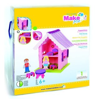 Kinder Bastelsets / Kids Craft Kits Craft Kit, KitsforKids Moosg.3D poppenhuis.