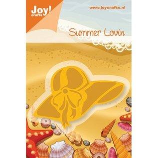 Joy Crafts, sjabloon strand hoed, 72x46, 5mm