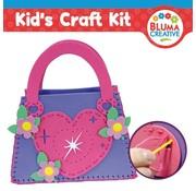 Kinder Bastelsets / Kids Craft Kits Harttas voor kinderen - weer op voorraad!