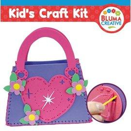Kinder Bastelsets / Kids Craft Kits Hjertepose for barn - tilbake på lager!
