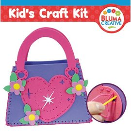 Kinder Bastelsets / Kids Craft Kits Sacca cuore per bambini - di nuovo disponibile!