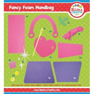 Kinder Bastelsets / Kids Craft Kits Heart bag for kids - back in stock!