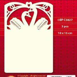 KARTEN und Zubehör / Cards 3 Luxury Karten Layout A6