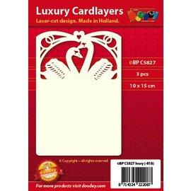 KARTEN und Zubehör / Cards Luxe 3-kaart indeling A6