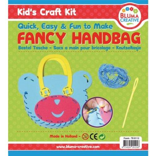 Kinder Bastelsets / Kids Craft Kits Bastelset Bears taske til børn - skumgummi