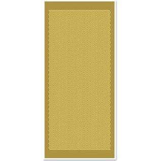 STICKER / AUTOCOLLANT Ziersticker, golvende lijnen, goud goud, maat 10x23cm.