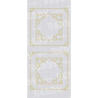 STICKER / AUTOCOLLANT Decoratieve sticker, 10x23cm