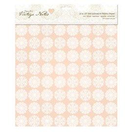 Textil Stof på papir, selvklæbende