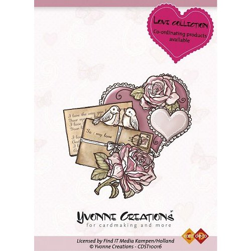 Yvonne Creations Yvonne Creations - Stamps - Love - Heart