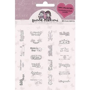 Yvonne Creations Yvonne Creations - Stamps - Love - Text