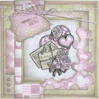 Karten und Scrapbooking Papier, Papier blöcke Yvonne Creations - Paper Pack - Love