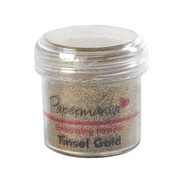 Papermania, Embossing Powder 1 OZ orpelli d'oro - 28 grammi