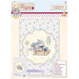 Komplett Sets / Kits A5 Embellished Indrammet Decoupage Card Kit - Tilly Daydream