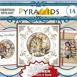 Bücher, Zeitschriften und CD / Magazines 1 A5 book 3D pyramid bow, Christmas motifs 8 DIN A5 sheets