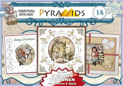 1 A5 Boek 3d Piramide Boog Kerst Motieven 8 Din A5 Vellen