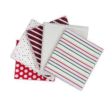 Textil Fabuleux Pack Fat Quarters contient 5 pièces 460 x 560mm Tissu