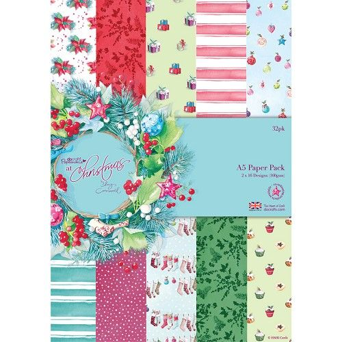 Papermania /'At Christmas by Lucy Cromwell/' Patterned Craft Tape