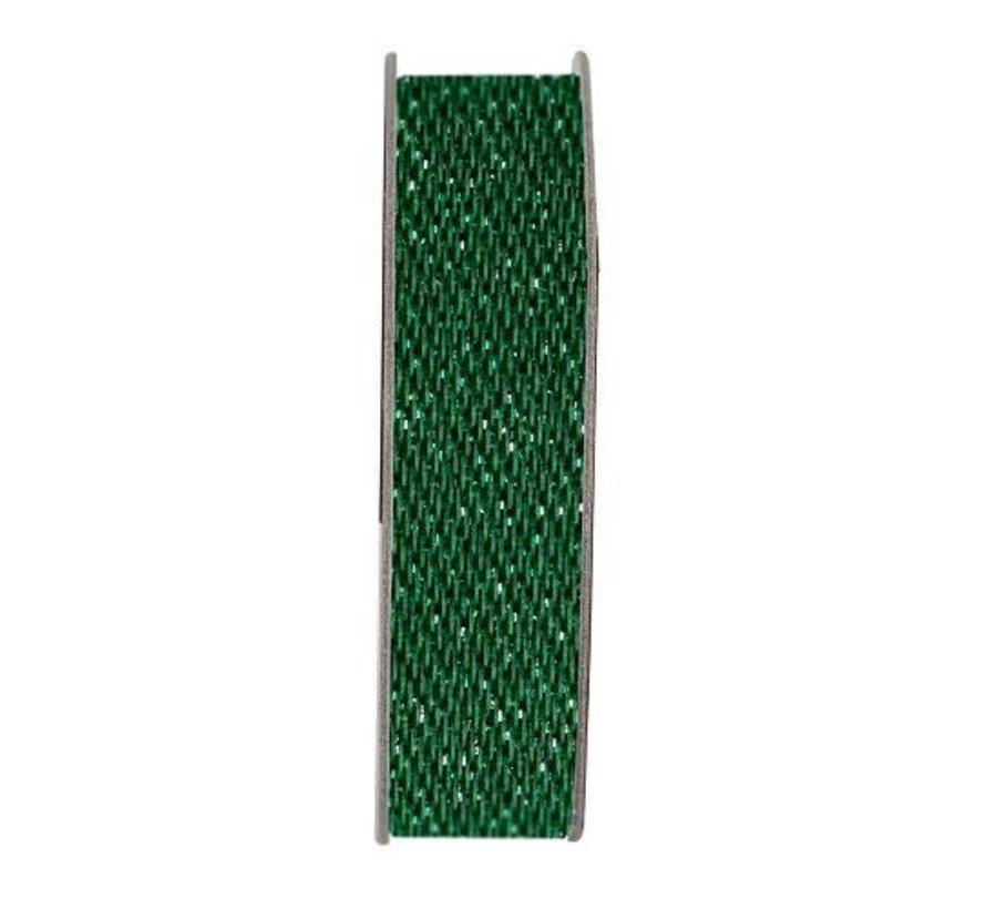 Papermania, ruban, satin scintillement, vert, 3 mètres.