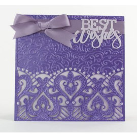 Tonic Stamping template kit en Embossing Folder