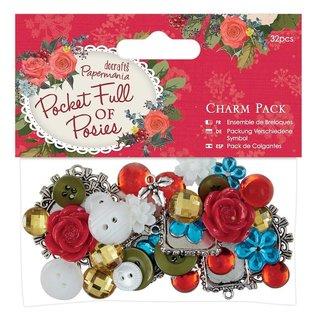 Embellishments / Verzierungen Vintage Charms Set mit 32 Teile