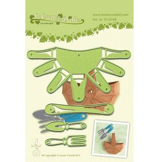 Leane Creatief - Lea'bilities und By Lene cutting and embossing stencil: ​​3D Basket - Back in stock!