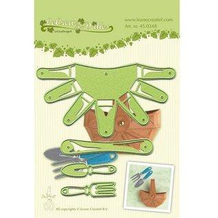 Leane Creatief - Lea'bilities und By Lene stencil per taglio e goffratura: cesto 3D - di nuovo disponibile!