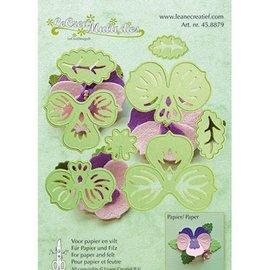 Leane Creatief - Lea'bilities und By Lene modello di punzonatura: fare fiori 3D