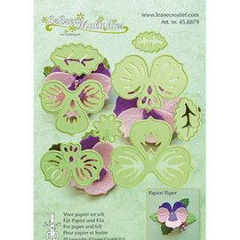 Leane Creatief - Lea'bilities und By Lene plantilla de perforación: hacer flores 3D